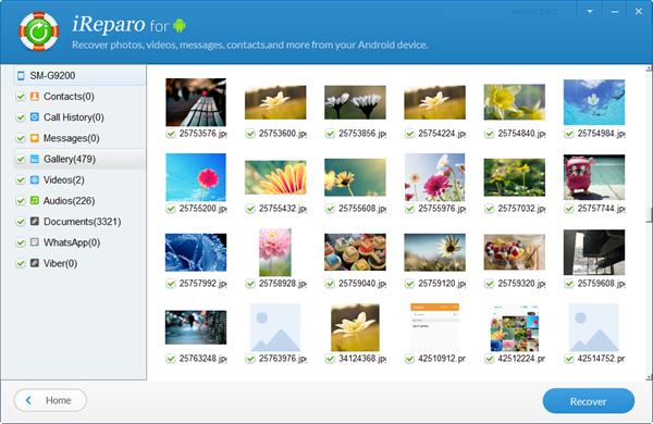 iReparo Android Data Recovery