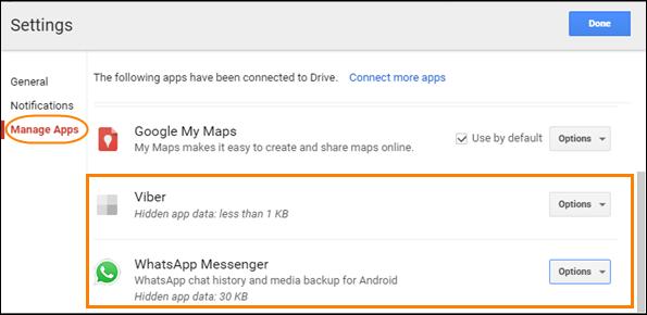 How to Delete WhatsApp/Viber App Backup Data from Google Drive