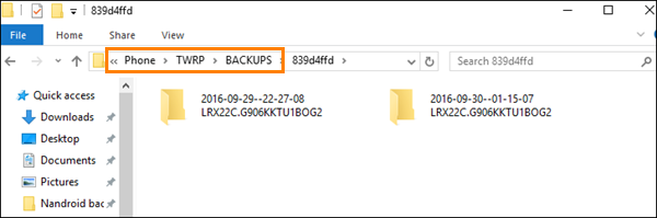 Rename, delete or restore Nandroid backup in recovery mode