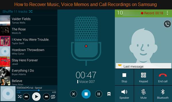 Samsung Audio data recovery