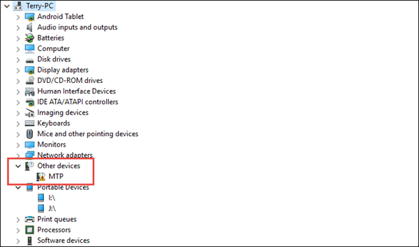 Windows 10 Usb Driver Problem