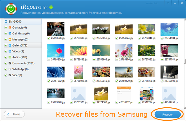Recover Deleted Files from Samsung Phone and Tablet