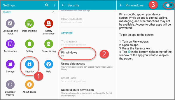 Pin or Unpin App Screen in Android Mobile Phone
